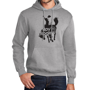 Bucking Bronco Hooded Sweatshirt