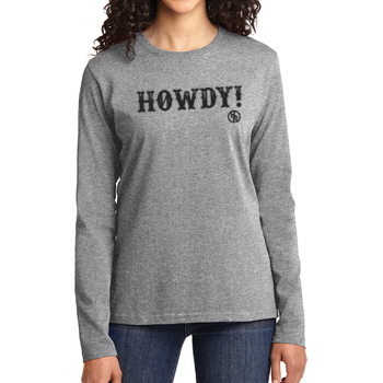 Howdy Women's Long Sleeve T-Shirt