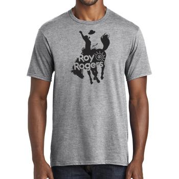 Bucking Bronco Adult Short Sleeve T-Shirt