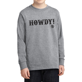 Howdy Youth Long Sleeve T-Shirt