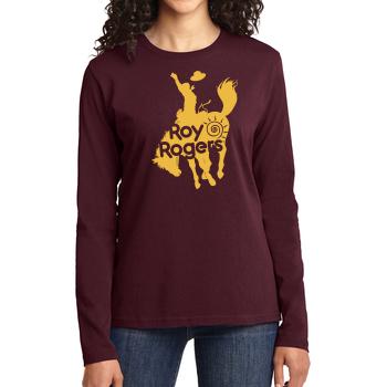 Bucking Bronco Women's Long Sleeve T-Shirt