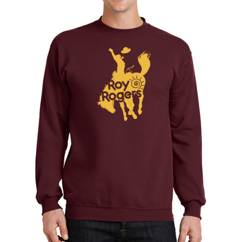 Bucking Bronco Crewneck Sweatshirt