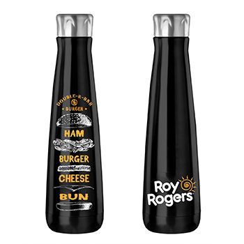 Double R Bar Burger Water Bottle