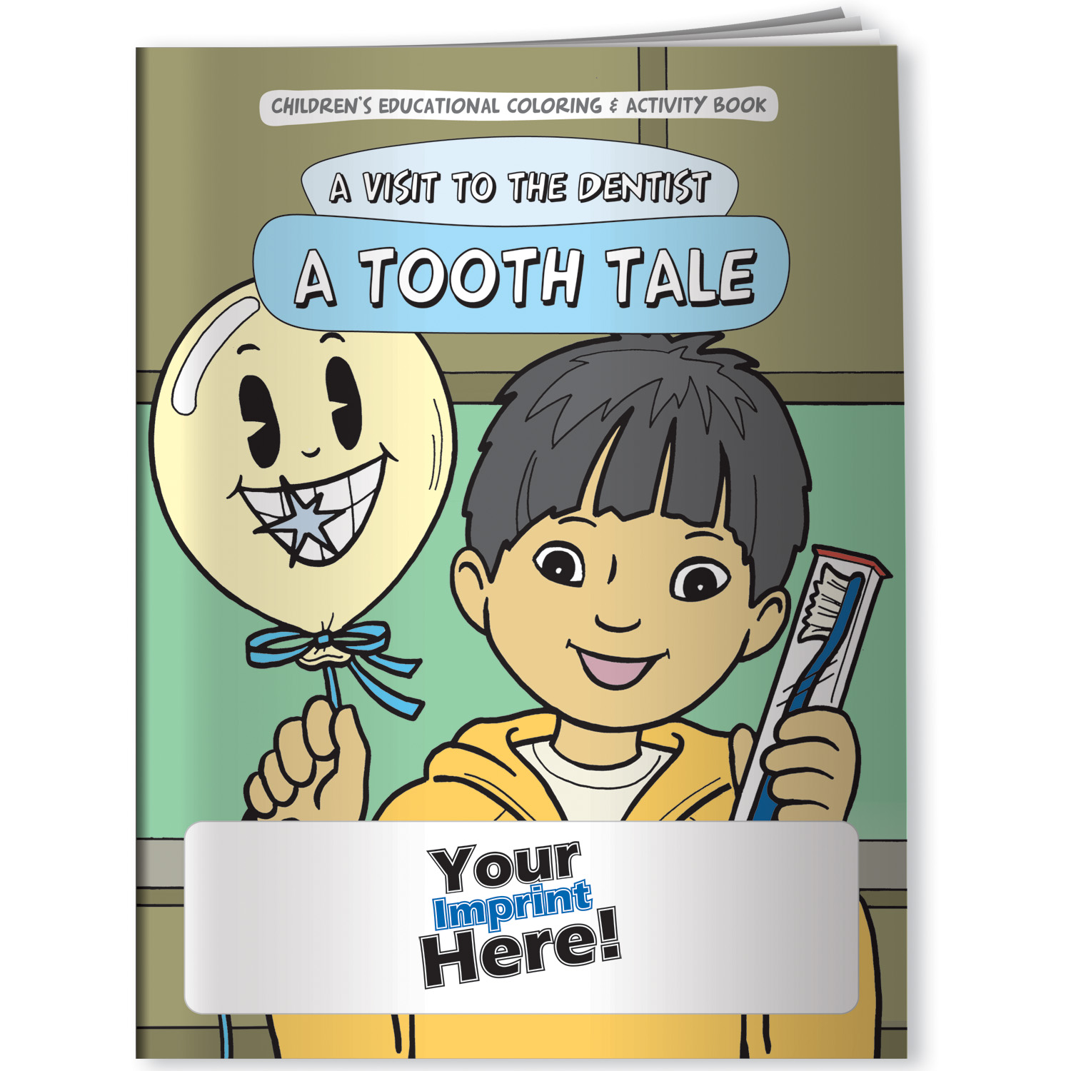 A Visit To The Dentist Activity Book