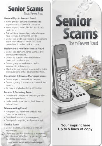 Bookmark - Senior Scams