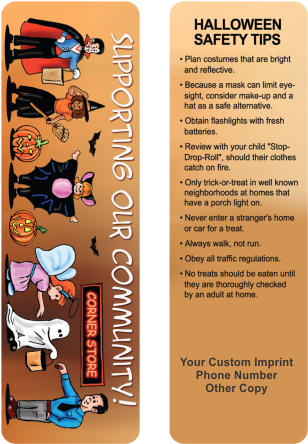Bookmarks - Halloween Safety