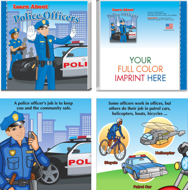 Learn About Police Officer Storybook