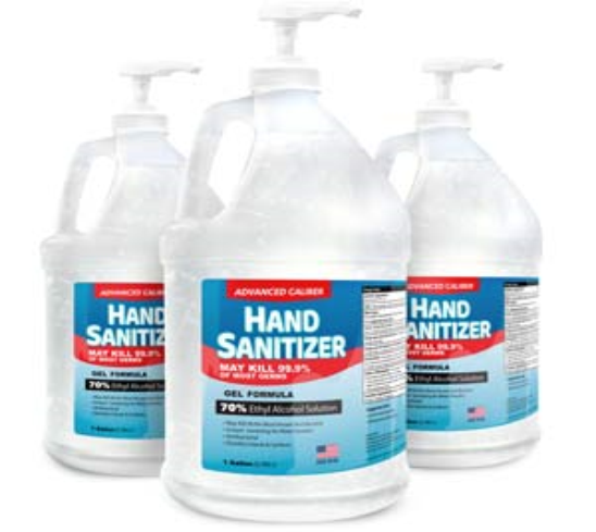 Gel Sanitizer with Pumps