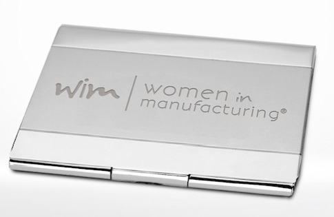 Silver Business Card Case