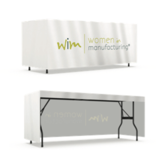 6ft 3-Sided table cover