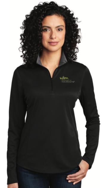 Ladies Performance 1/4-Zip Shirt