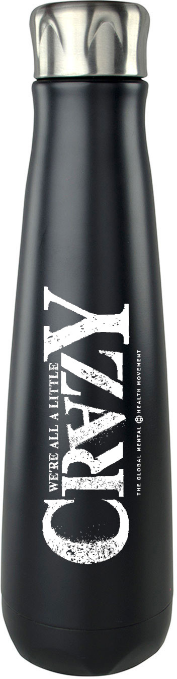 Peristyle Bottle - 'Crazy' Logo