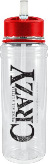 26 oz Sport Triton Bottle - 'Crazy' Logo