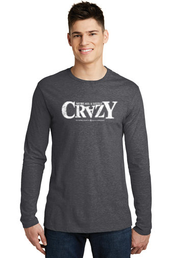 District Very Important Long Sleeve Tee - 'Crazy' Logo