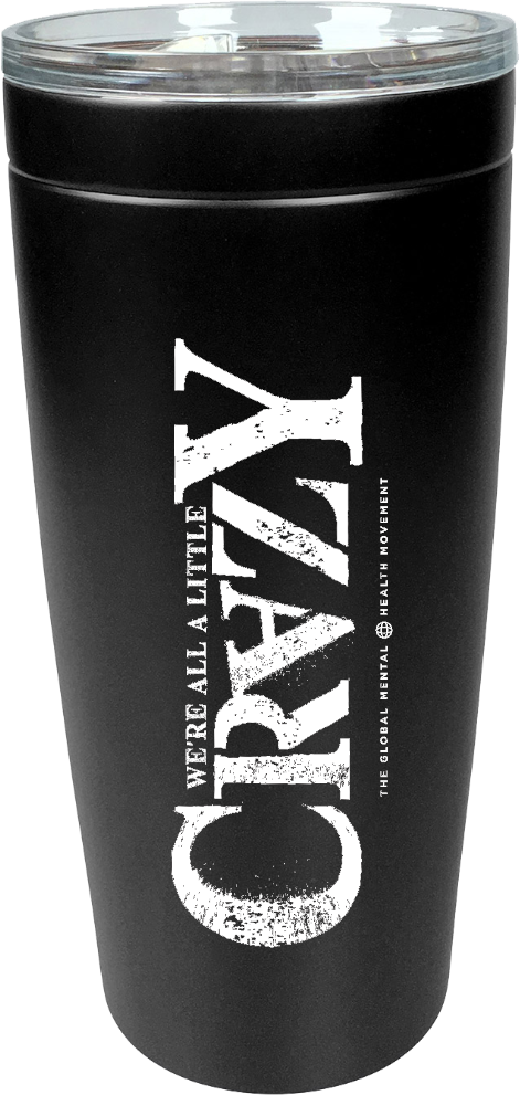20 oz. Viking Tumbler - 'Crazy' Logo