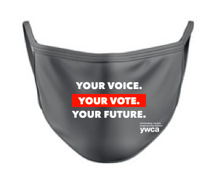 Your Voice. Your Vote. Your Future. Face Mask