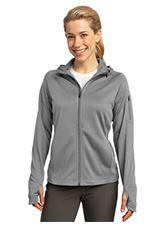 Ladies Tech fleece Hooded Full Zip Jacket MIDL248