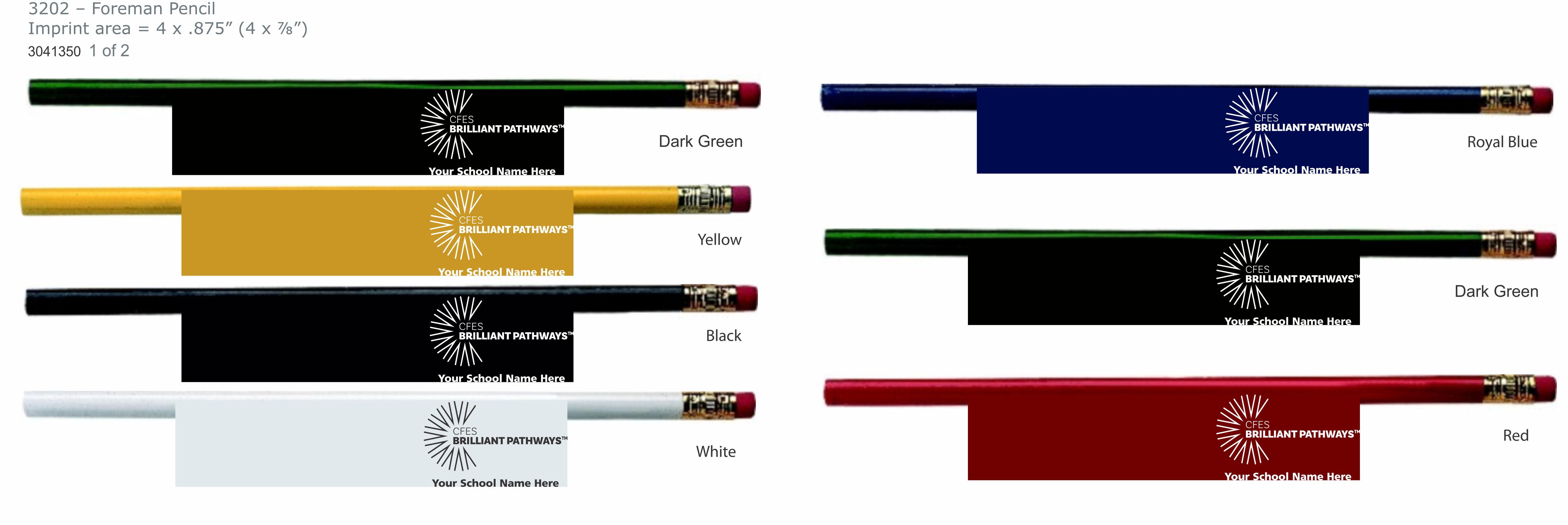 Solid Color Pencils