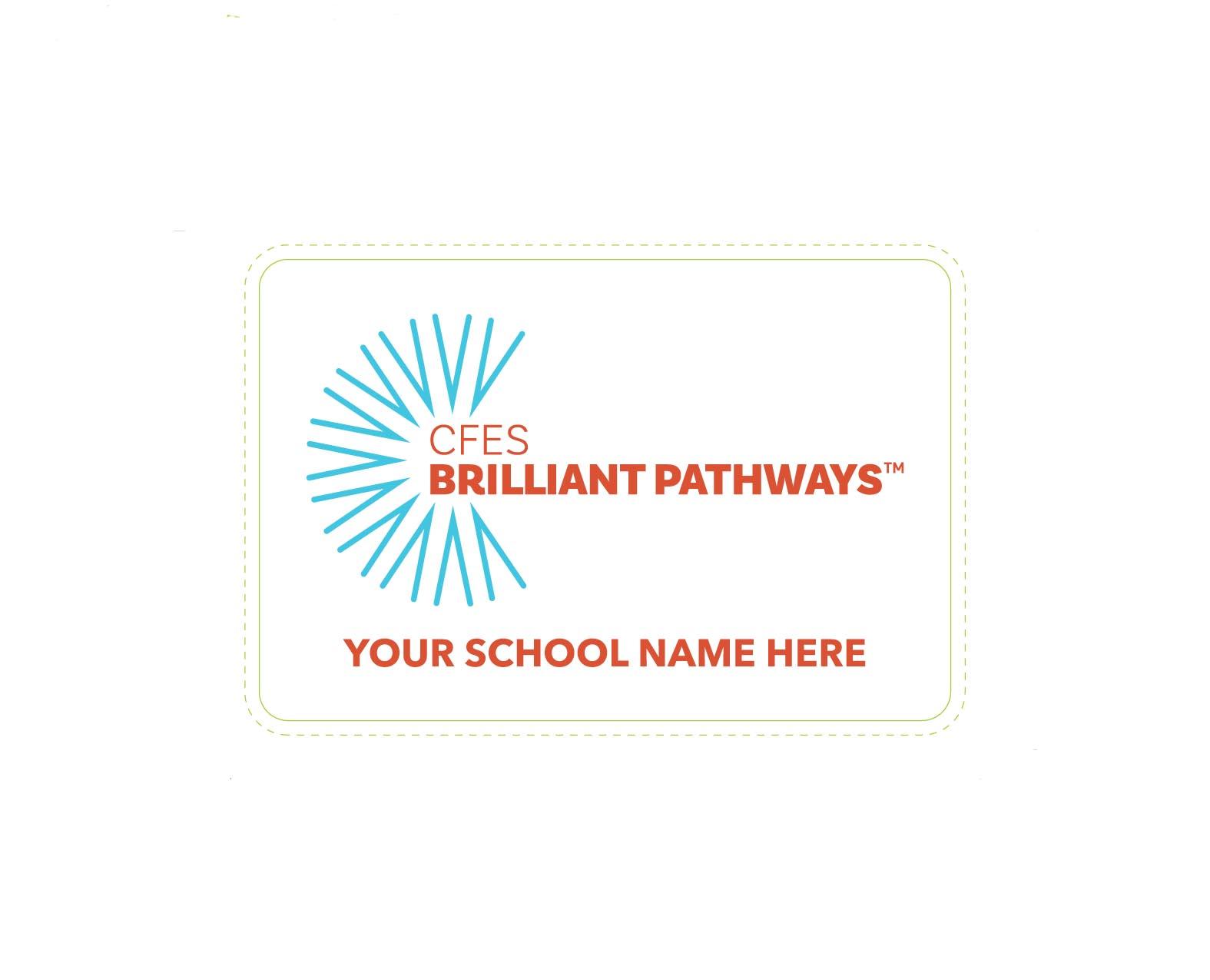 School Spirit Branded Labels