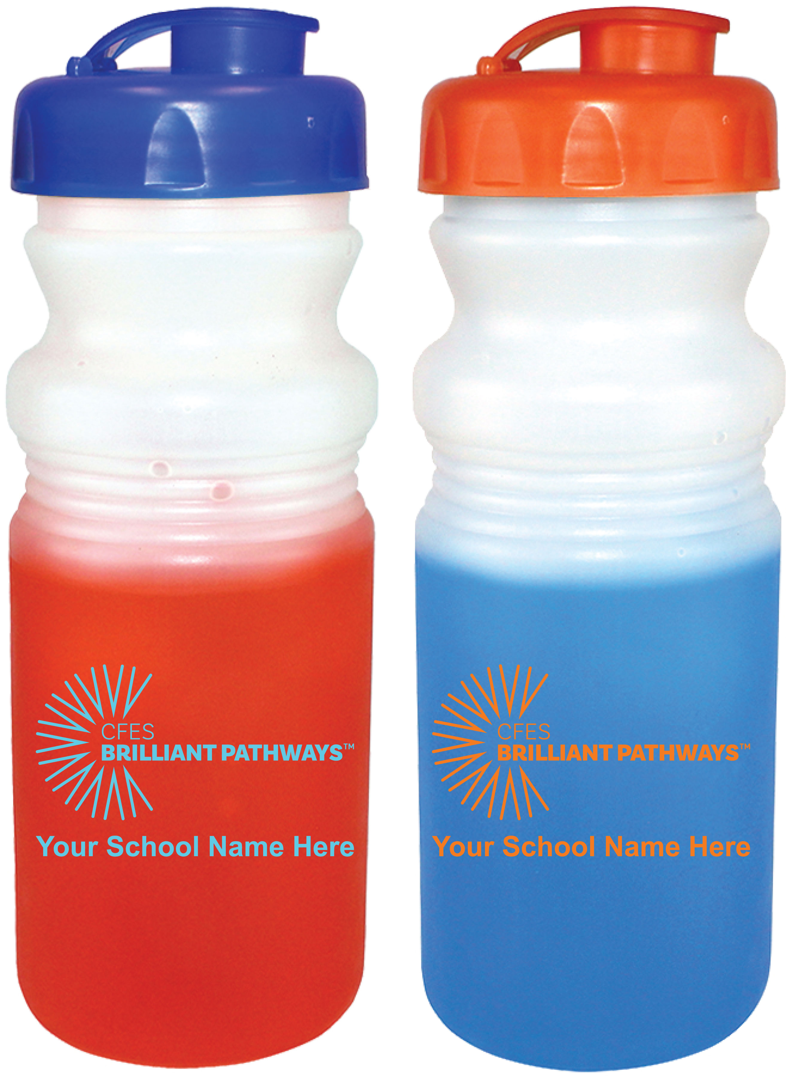 20 oz Mood Cycle Bottle with Flip Top Cap