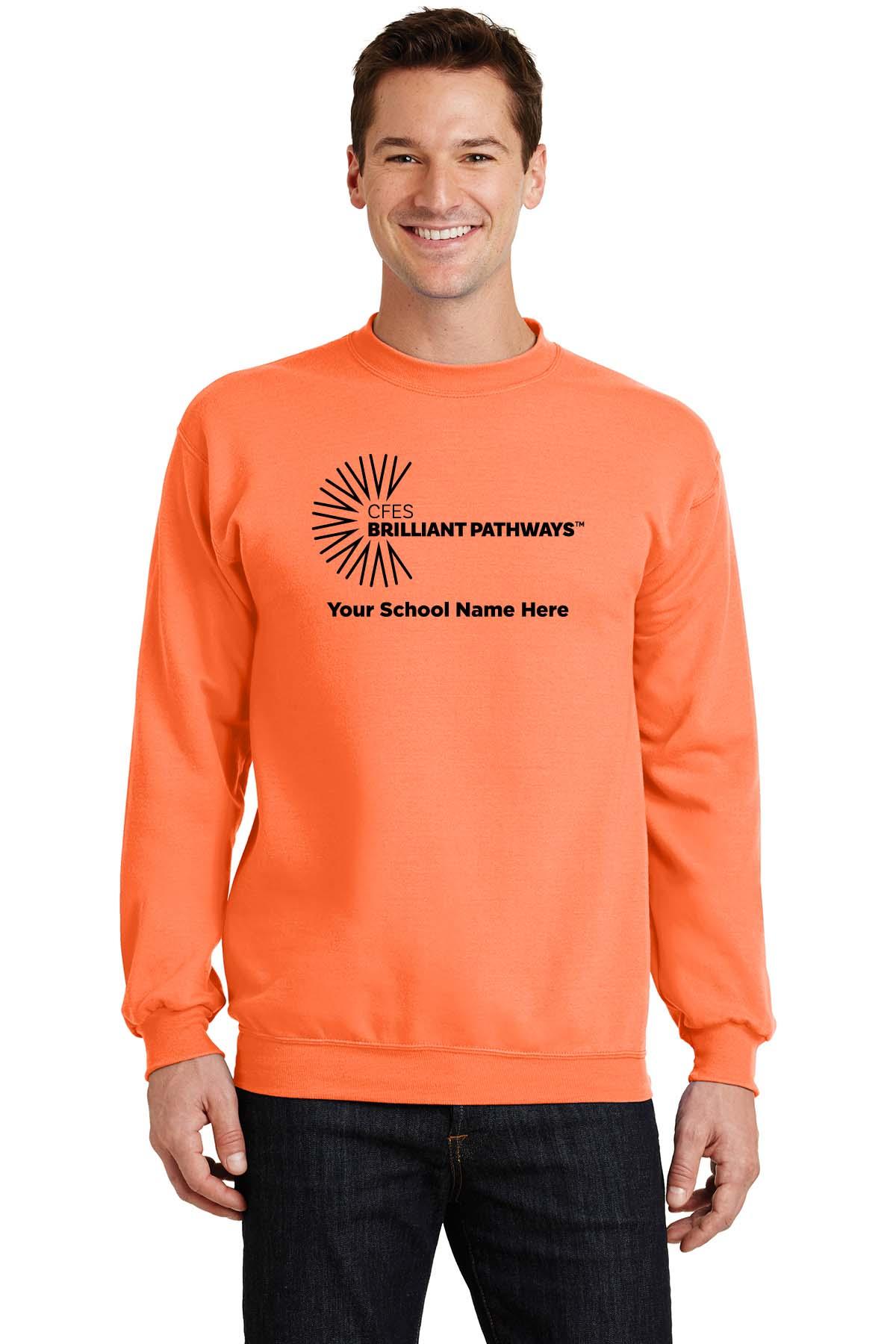 Essential  Fleece Crewneck Sweatshirt