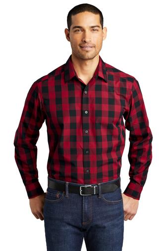 Mens Everday Plaid Shirt