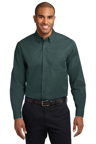 Mens Long Sleeve Easy Care Twill