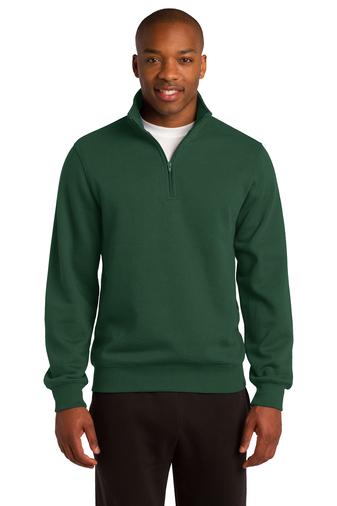mens' 1/4 zip sweatshirt