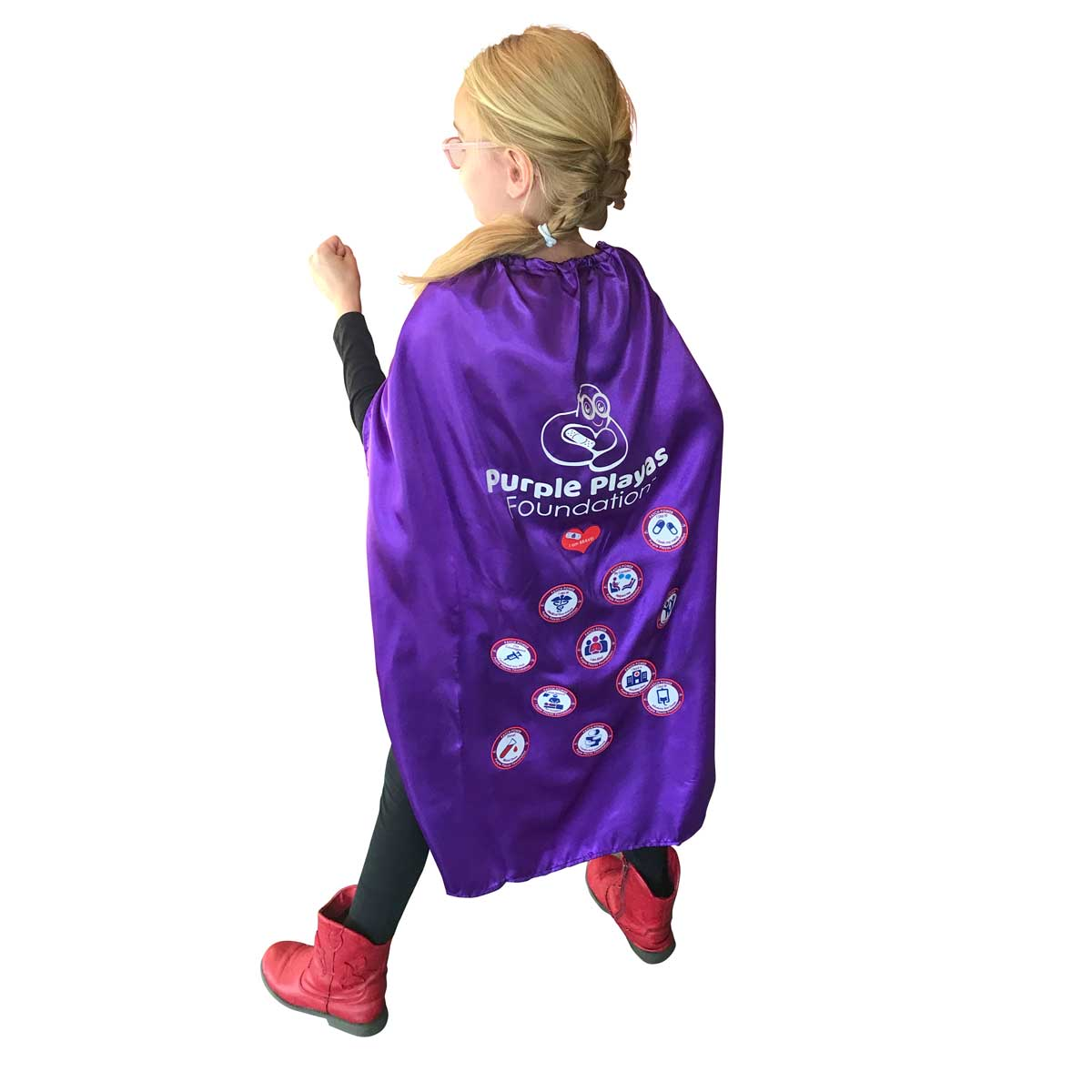 Purple Power Cape