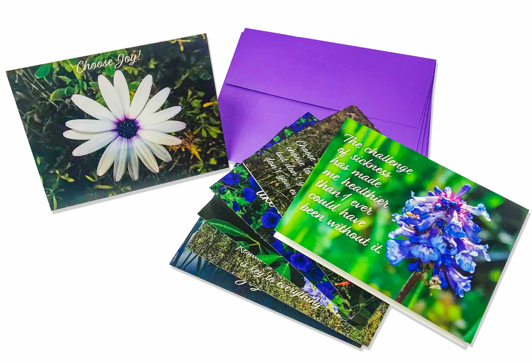 Inspirational Card Set-Set of 7