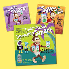 The Joe the Monkey Share & Save & Spend Smart 3-Book Series