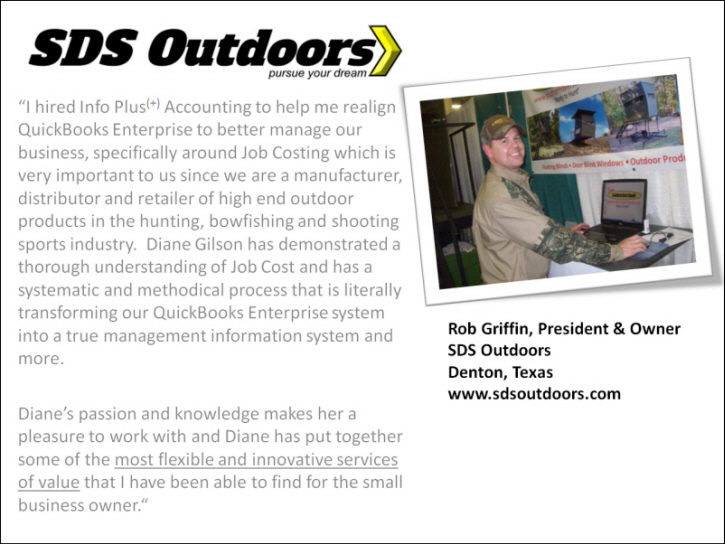 Rob Griffin & the 35-Point QuickBooks Check Up and Action Plan