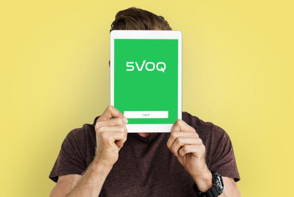 Sample branding #3 for 5voq