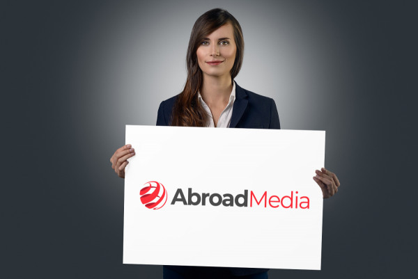 Sample branding #1 for Abroadmedia
