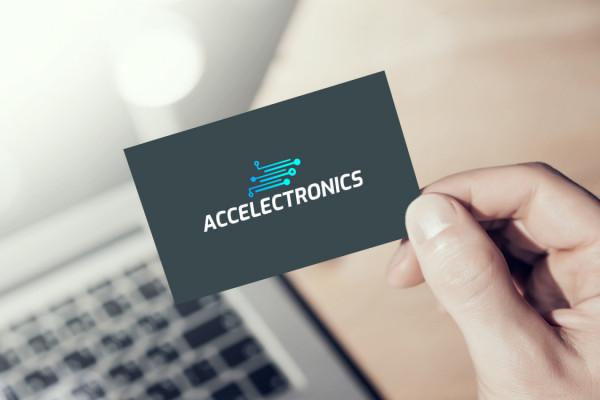 Sample branding #2 for Accelectronics