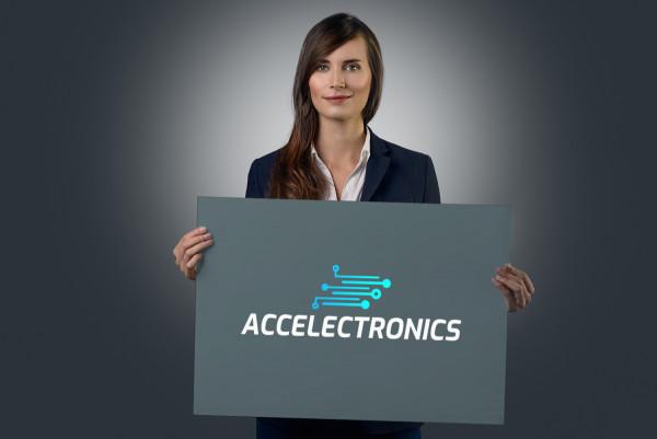 Sample branding #1 for Accelectronics