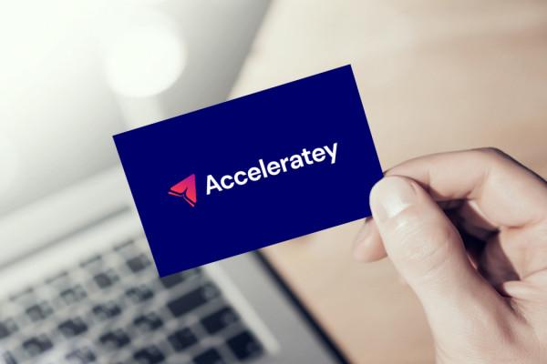 Sample branding #2 for Acceleratey