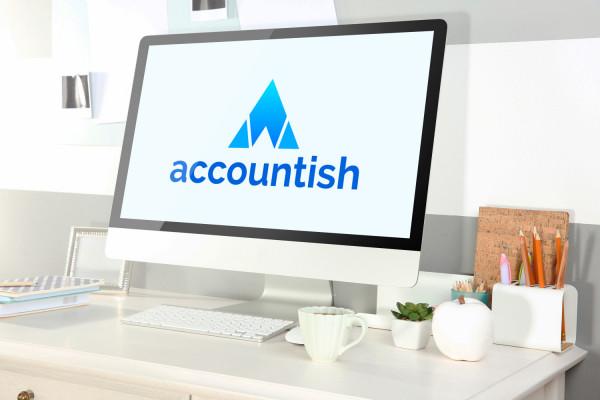 Sample branding #1 for Accountish