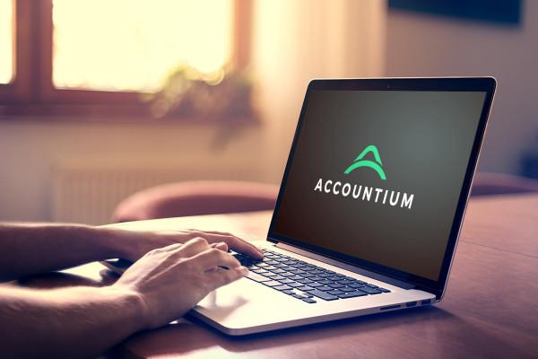 Sample branding #1 for Accountium
