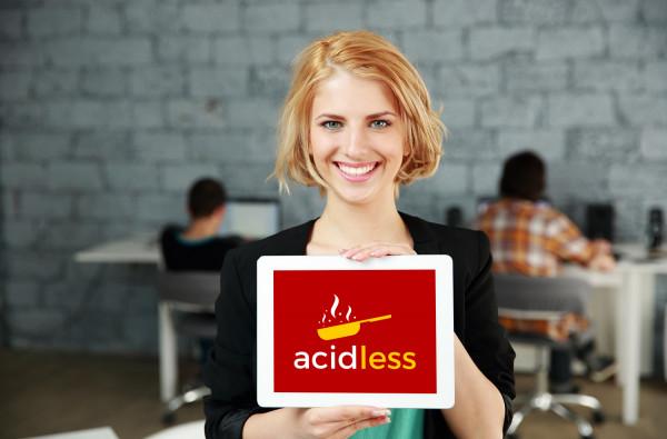 Sample branding #1 for Acidless
