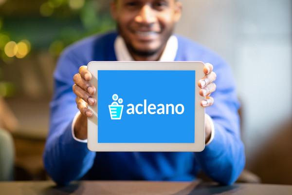 Sample branding #1 for Acleano