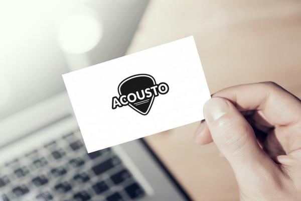 Sample branding #2 for Acousto