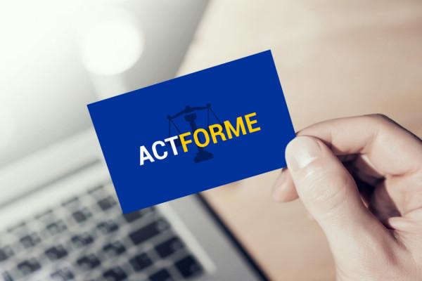 Sample branding #2 for Actforme