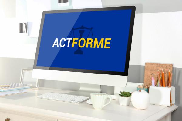 Sample branding #1 for Actforme