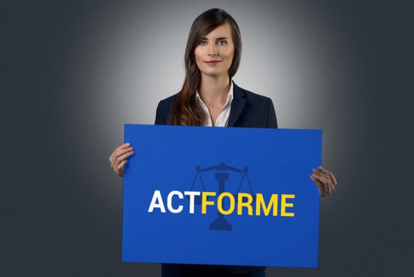 Sample branding #3 for Actforme