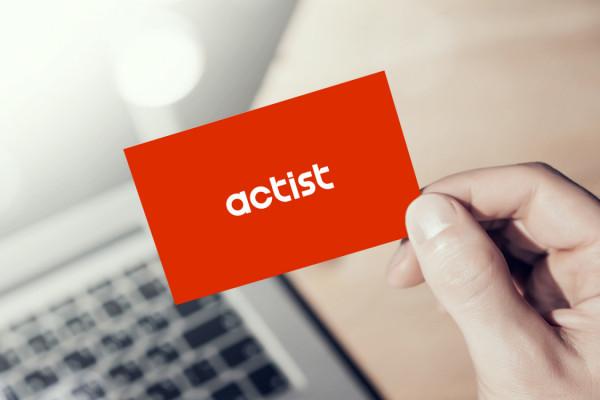 Sample branding #1 for Actist