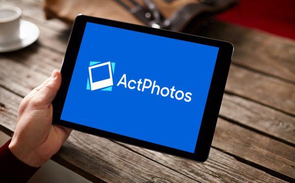 Sample branding #1 for Actphotos