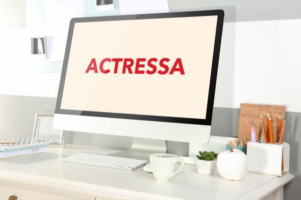 Sample branding #3 for Actressa