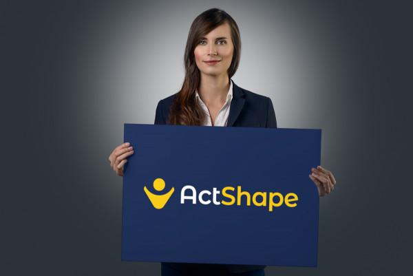 Sample branding #2 for Actshape
