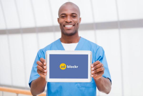Sample branding #3 for Adblockr